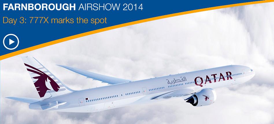 BOEING, INTREPID AVIATION ANNOUNCE FIRST 777-300ER ORDER
