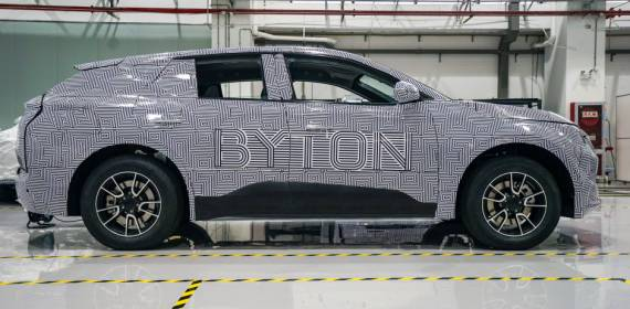 China's Byton is sending its electric SUV prototypes to the U.S.